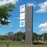 totem para propaganda preços Águas Lindas de Goiás