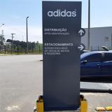 totens personalizados propaganda Condomínio Lago Sul